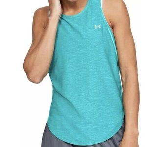 Under Armour Green Heat Gear Loose Fit Tank Small